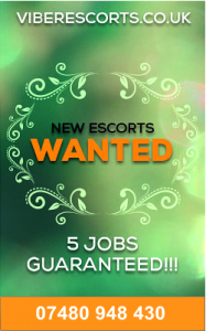 New Escorts Wanted