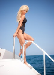 Victoria Silvstedt Long Legs